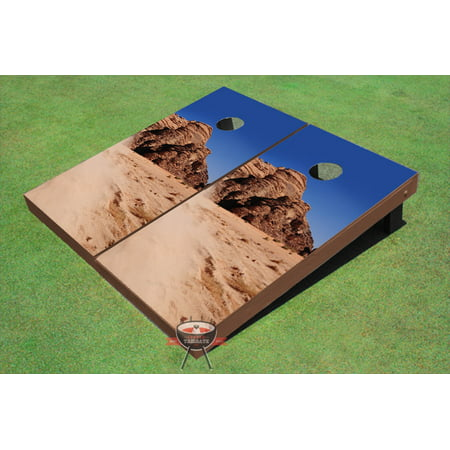 Desert Rock - Desert Rock Theme Cornhole Boards
