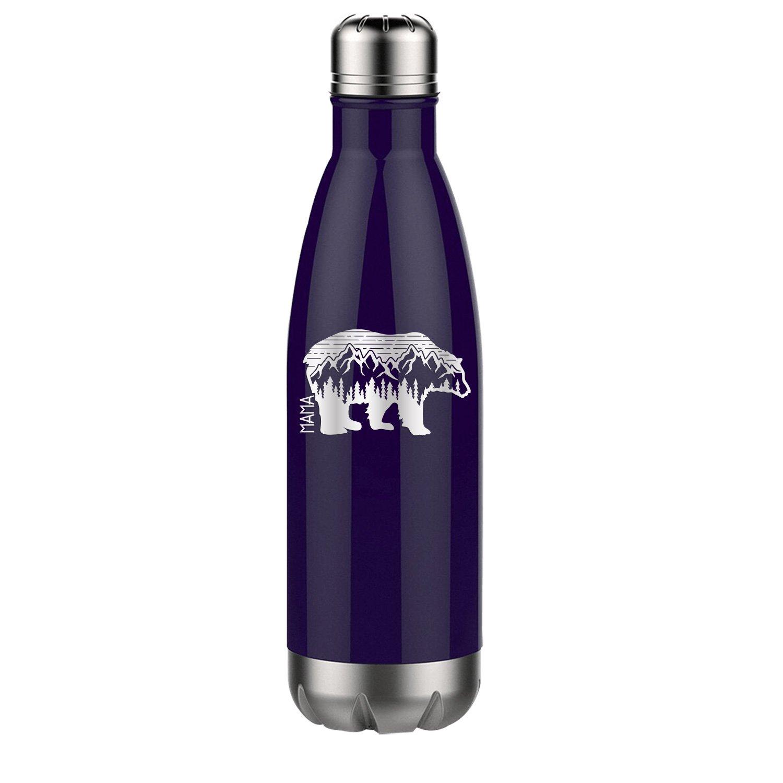 Mama Bear Adventure - 17 oz Water Bottle Engraved Unique ...