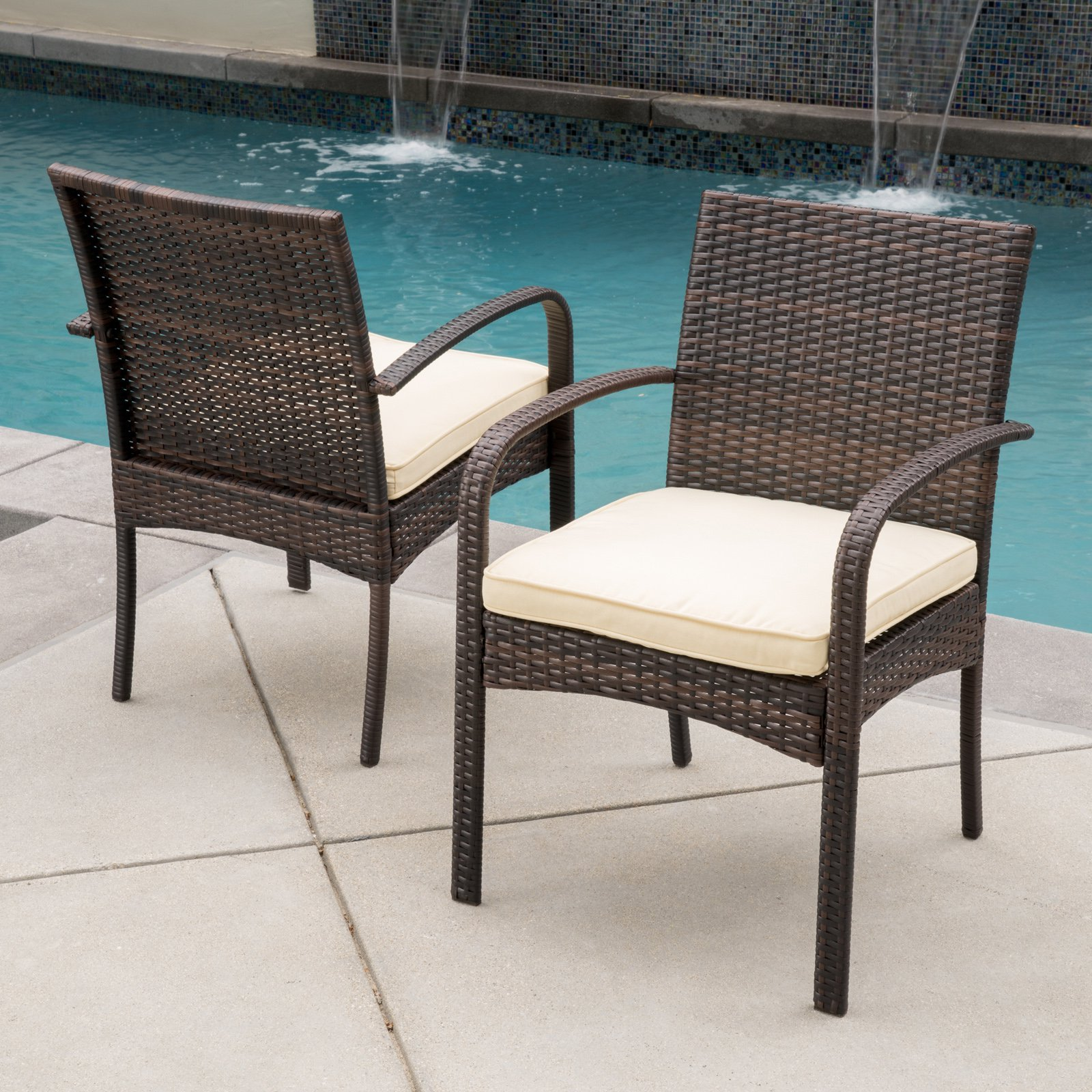 Superbe Mazatlan Dining Chair   Set Of 2   Walmart.com