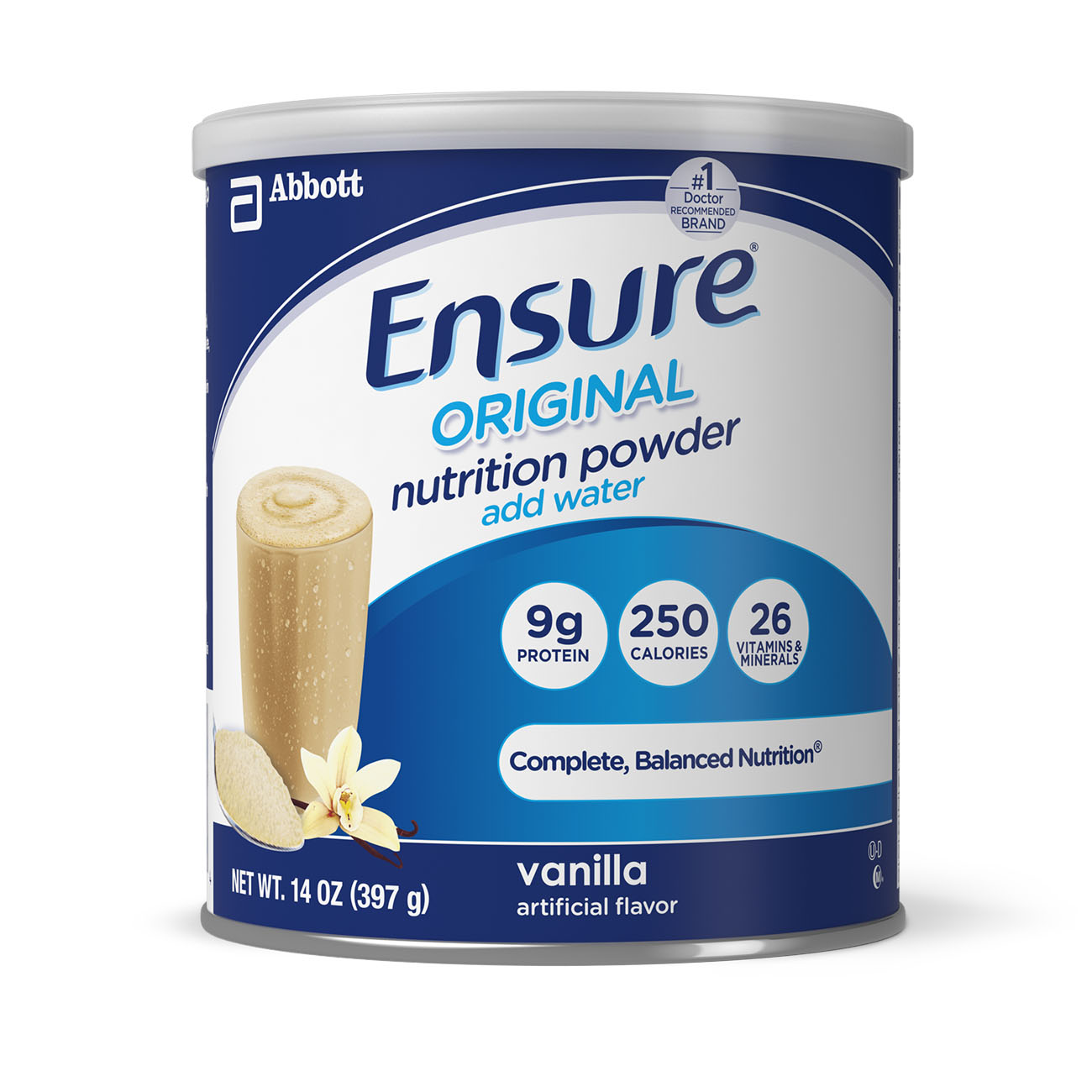 Ensure Original Nutrition Powder, Vanilla, 14 oz