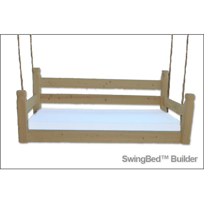 Swing Beds ORG-CRB-STN- ANTIQUE CYPRESS Original Crib Bed, Antique Cypress
