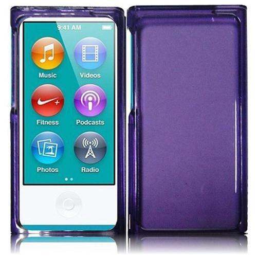 Insten For Apple Ipod nano 7 Honey Phone Hard Case Dark Purple