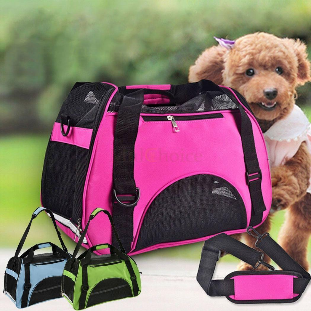 Zimtown Pet Dog Nylon Handbag Carrier Travel Tote Bag Travel For Small Animals S/M/L