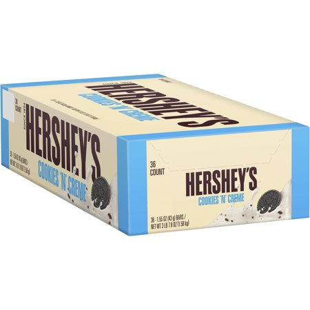 Hershey's Cookies n Crème Standard Bar Box, 1.55 oz (Pack of 36)](Cookies And Cream Chocolate)