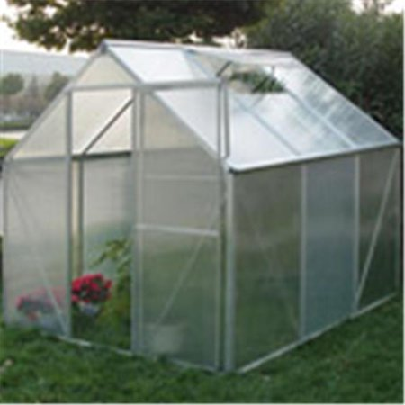 AmeriLux W607 Polycarbonate Hobby Greenhouse With Steel Base