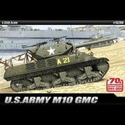 ACADEMY MODEL M10 Gmc Us Army Tank 1:35 Scale