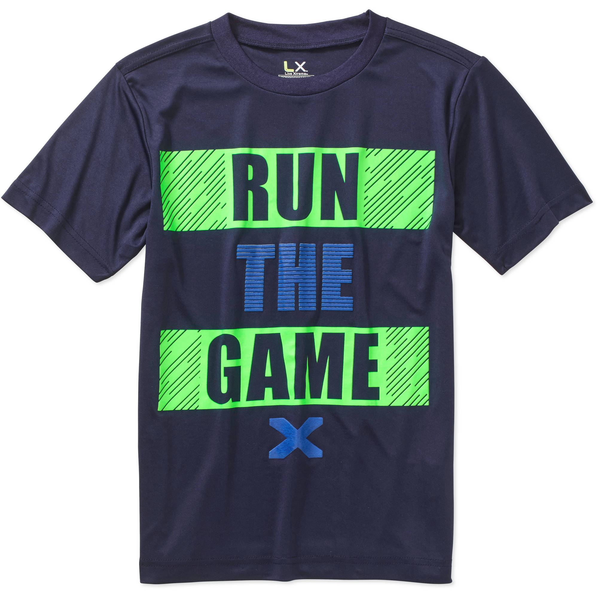 "Live Xtreme Boys' ""Run the Game"" Graphic Active Tee"
