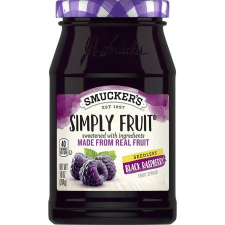 Smucker's Seedless Black Raspberry Spread, 10-Ounce ()