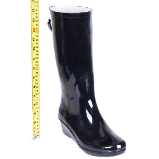Forever Young - Ženske Gumijasti dežni škornji, Wedge W-8333