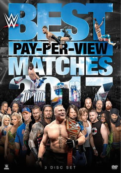 WWE: Best PPV Matches 2017 (DVD) by WARNER HOME VIDEO