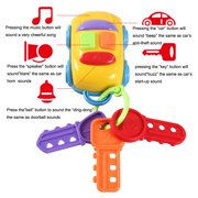 Vintage Baby Toddler Learning Fun Toy CIKOO Music Car Wash Keys Educational Toys