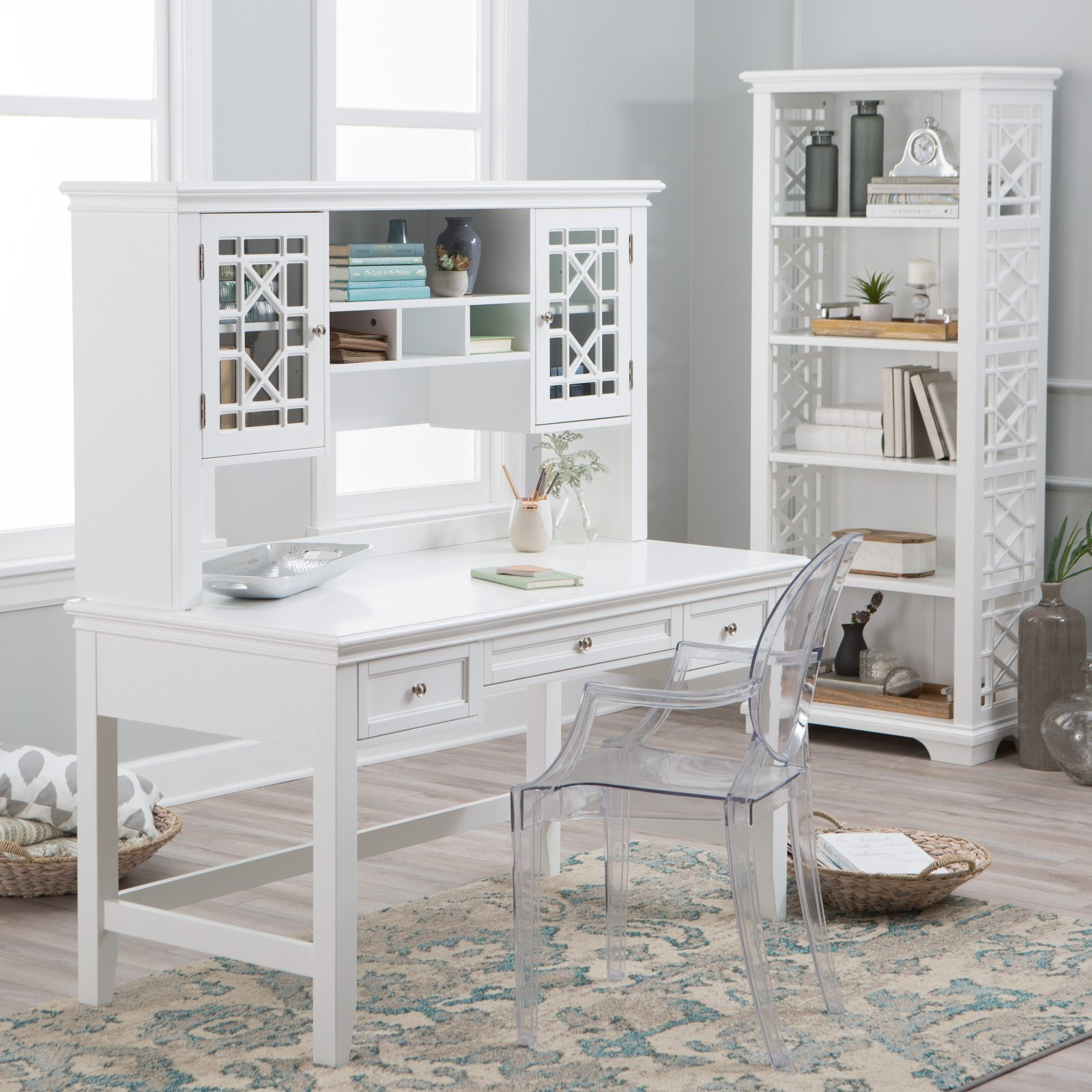 Belham Living Florence Writing Desk with Optional Hutch