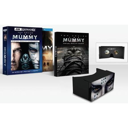 The Mummy  Walmart Exclusive   4K Ultra Hd   Blu Ray   Digital Hd