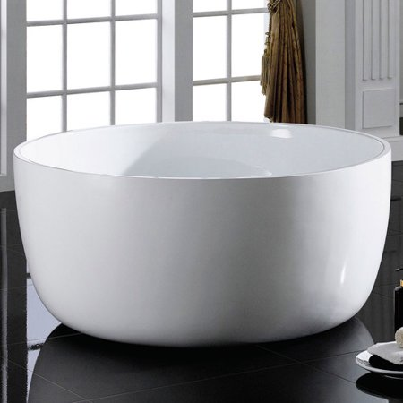 Maykke Vale 53 19 X 53 19 Freestanding Bathtub