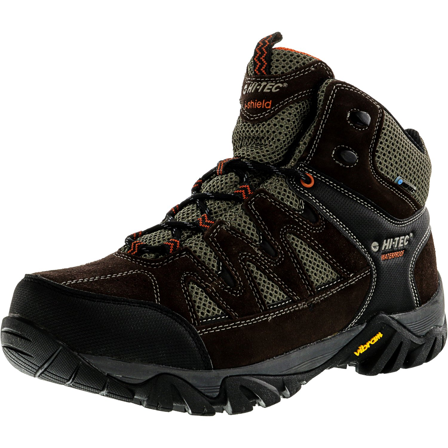 Hi-Tec Mens 54151 Sonorous Mid I Waterproof Hiking Boots Chocolate Red Rock by Hi-Tec