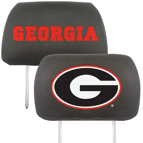 University of Georgia Headrest Covers