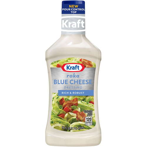 Kraft Salad Dressing: Dressing & Dip Roka Blue Cheese, 16 Fl Oz