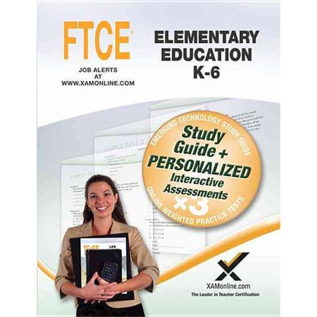 Ftce Elementary Education  K 6  Online Weighted Practice Tests