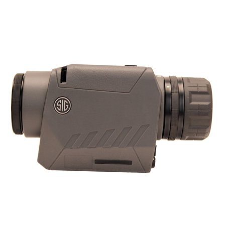 Sig Sauer Victor 3, Spotting Scope, 6-12X 25mm, Compact, Image Stabilized, Variable Power, Graphite