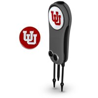 Utah Utes Switchblade Repair Tool & Two Ball Markers - No Size