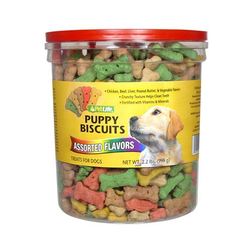 SUNSHINE MILLS Dog Treats, Puppy Biscuits, 2.2-Lbs.