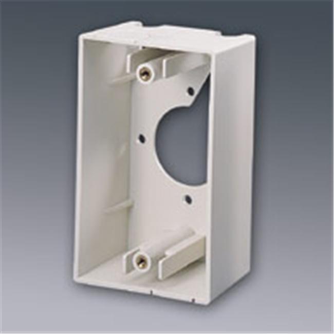SINGLE GANG WALL BOX WHITE - image 1 of 1