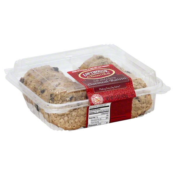 Lofthouse Oatmeal  Raisin Cookies, 15oz