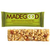 MadeGood Apple Cinnamon Granola Bars, 0.85 Oz, 15 Ct