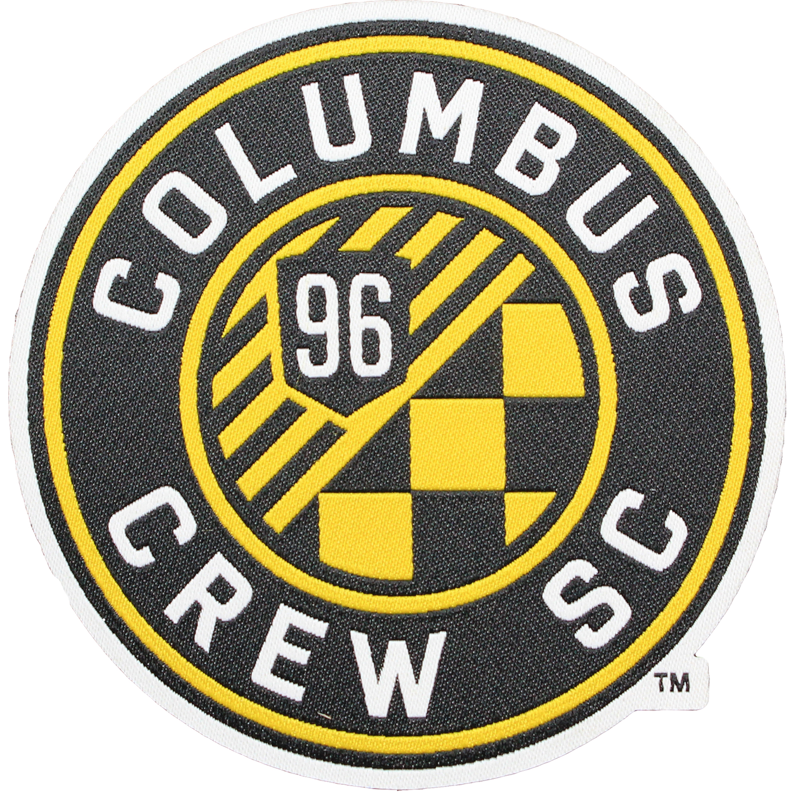 Columbus Crew Primary Team Crest Pro-Weave Jersey Patch