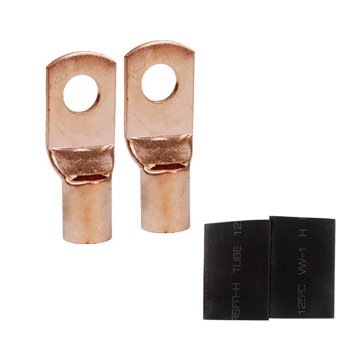 Audiopipe ISPTRC48 Nippon 4 Gauge Copper Ring Tongue Terminal #1/4