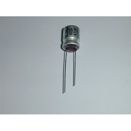 Mfd 100v Radial - ELECTROLYTIC CAPACITOR 4.7UF 100V RADIAL LEADS ( 1 EACH) - 672D475F100CD3D
