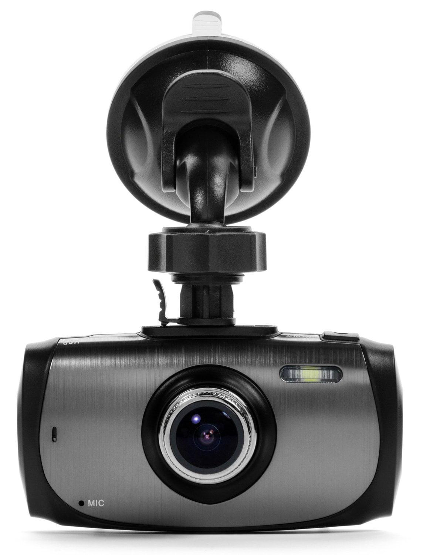 G-Sensor Full HD 1080P H.264 2.7 LCD SOS WDR Night Vision Black Box X1S GPS Dash Camera 170/° Wide Angle 6G Glass Lens 1.7 Aperture Motion Detection Car DVR Video Recorder /& 16GB SD Card