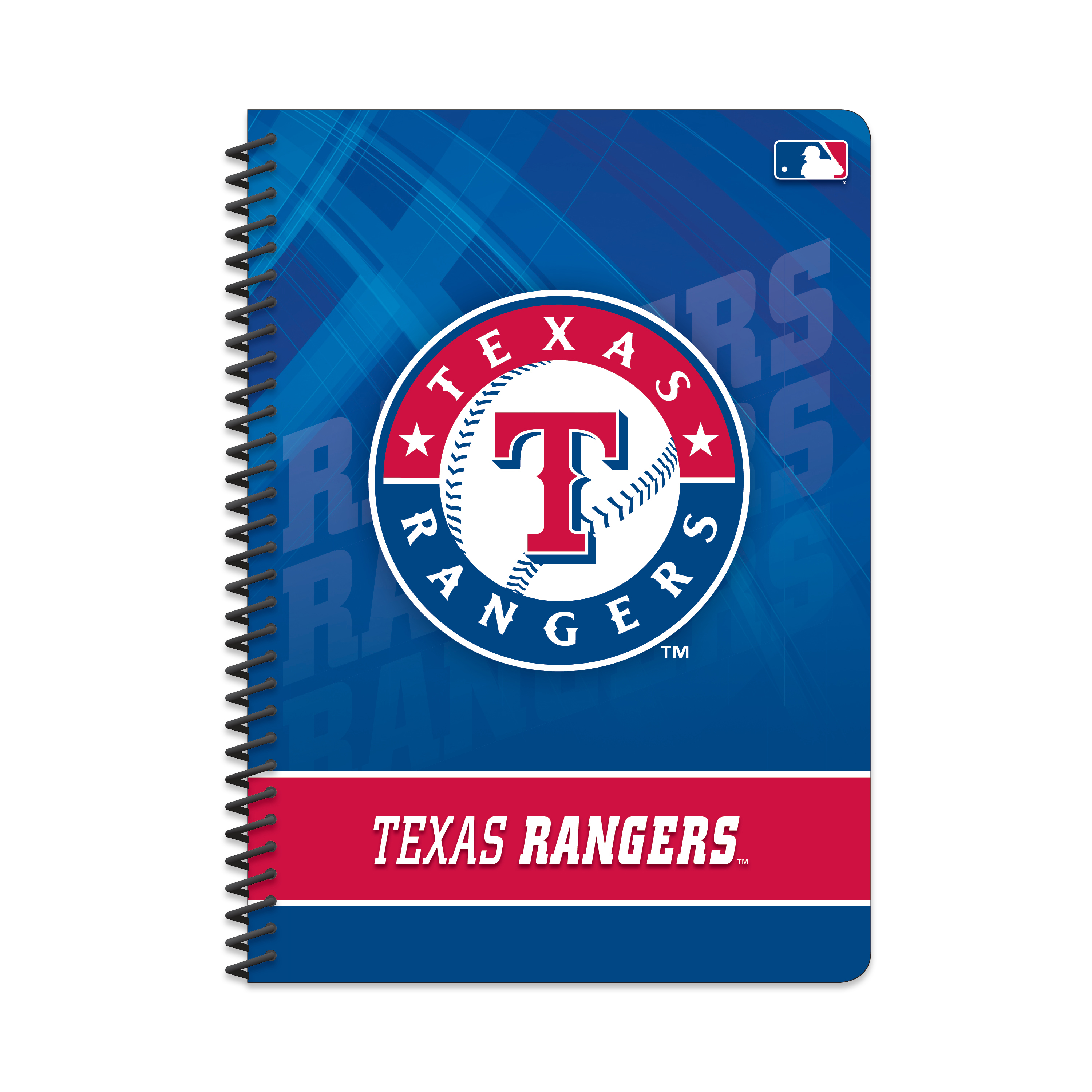 "MLB Texas Rangers Spiral Notebook, 5"" by 7"", 80 Sheets, College Rule"
