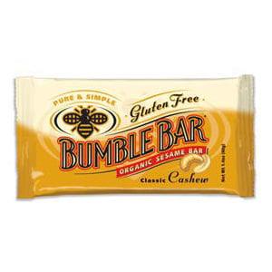 Bumble Bar Original Energy Bar With Cashews (12x1.4 Oz)