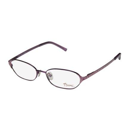 51e17041794 New Thalia Garbina Womens Ladies Designer Full-Rim Plum   Multicolor Hard  Case Optical