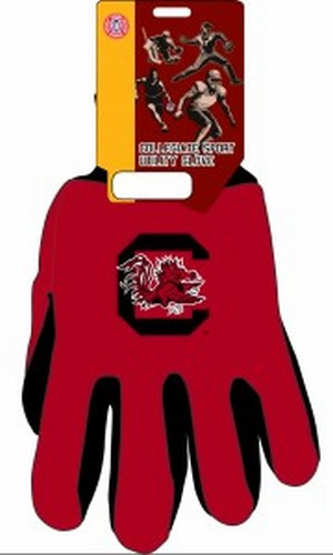 South Carolina Gamecocks Two Tone Gloves Adult by Wincraft, Inc.