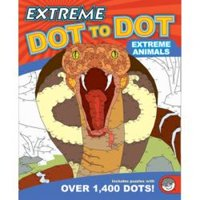 Extreme Animals Extreme Dot To Dot Coloring Book