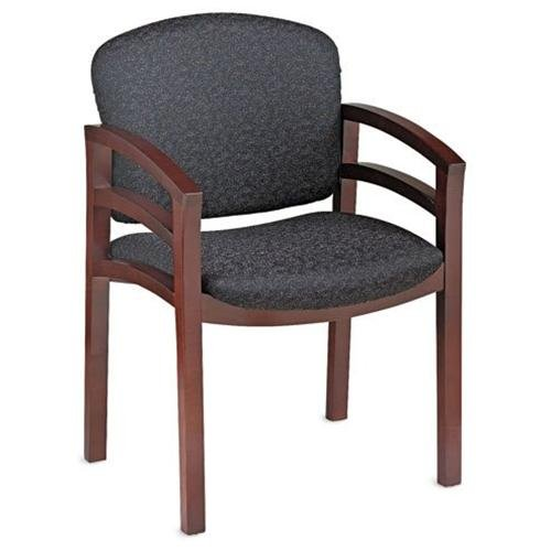 Hon Invitation 2112 Double Rail Arm Chair Raven Seat