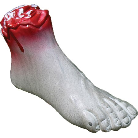 Morris Costumes New Polypropylene Haunted Display Zombie White Foot, Style FW91256F](Party At Display And Costume)