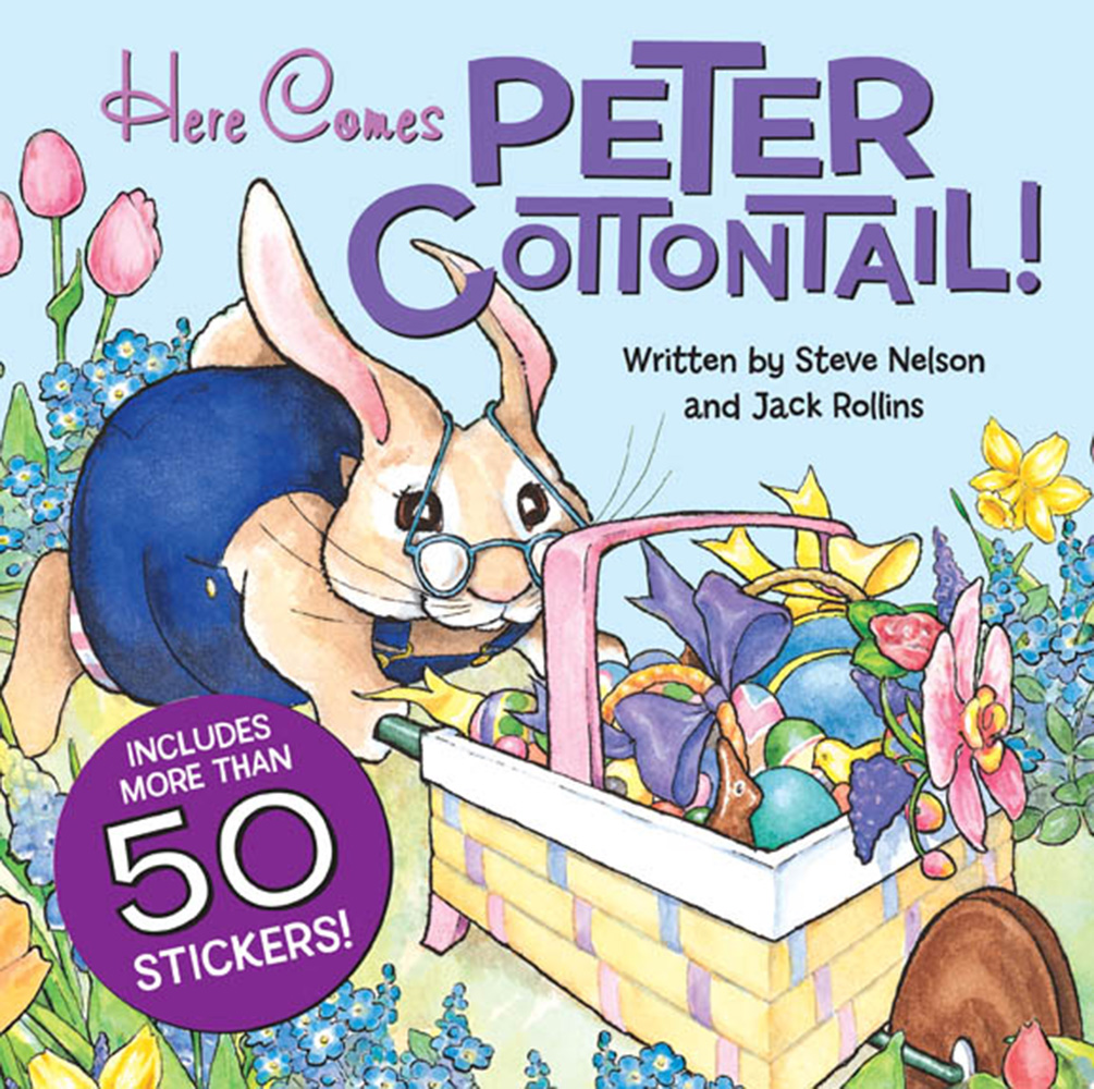 Here Comes Peter Cottontail - Sticker
