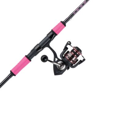 Penn Passion Spinning Reel And Fishing Rod Combo Black Pink Walmart Com Walmart Com