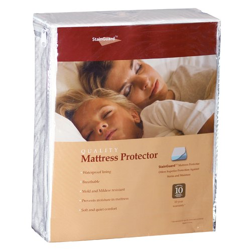 PureCare by Fabrictech StainGuard Terry Hypoallergenic Waterproof Mattress Protector