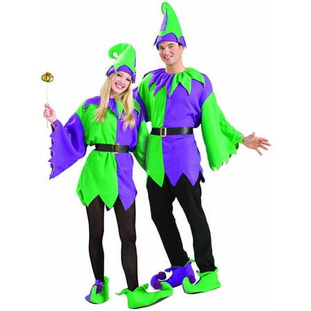 Mardi Gras Jolly Jester Adult Costume