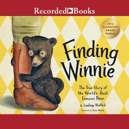Finding Winnie - Audiobook Before Winnie-the-Pooh, there was a real bear named Winnie. And she was a girl! In 1914, Harry Colebourn, a veterinarian on his way to tend horses in World War I, followed his heart and rescued a baby bear. He named her Winnie, after his hometown of Winnipeg, and he took the bear to war. Harry Colebourn's real-life great-granddaughter tells the true story of a remarkable friendship and an even more remarkable journey--from the fields of Canada to a convoy across the ocean to an army base in England... And finally to the London Zoo, where Winnie made another new friend: a real boy named Christopher Robin. Here is the remarkable true story of the bear who inspired Winnie-the-Pooh.