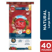 Purina ONE Natural Large Breed Dry Dog Food, SmartBlend Large Breed Adult Formula, 31.1 lb. Bag