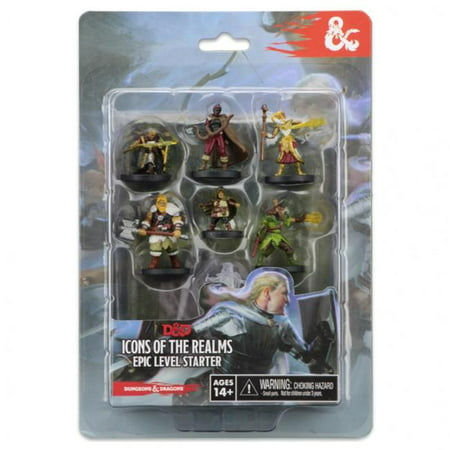 WizKids D&D Icons of the Realms Miniatures Epic Level Starter Board (D&d Icons Of The Realms Monster Menagerie 2)