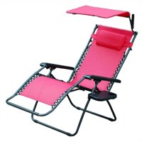 Pemberly Row Oversized Chair with Sunshade in Red