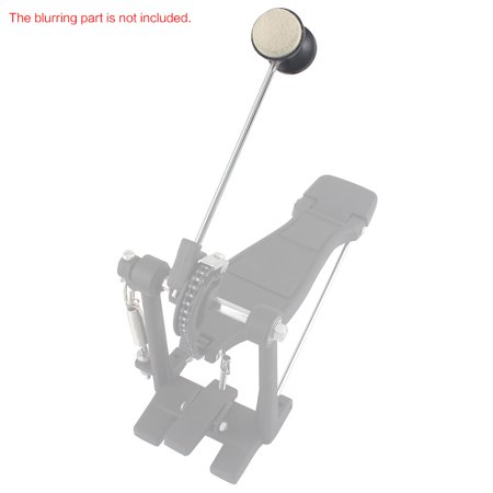 Drum Pedal Wool Felt Stainless Steel Handle 1pcs Instrument Accessory Part High Quality