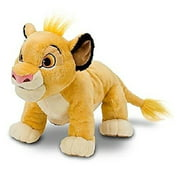 Hard to Find Disney Lion King Adorable Baby Cub Simba 13 Inch Plush Doll Standing On All Fours - Super Cuddly and Soft - New with Tags