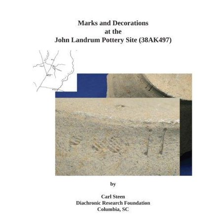 Marks And Decorations At The John Landrum Pottery Site